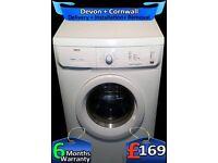 Zanussi Washer Dryer, 1600 Spin, 6Kg Load, Fast Wash, Factory Refurbished inc 6 Months Warranty