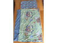 Children's reversible bed linen single
