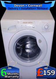 Candy Washing Machine, 10Kg Mega Drum, Rapid Wash, A+ Rated, Fully Refurbished inc 6 Months Warranty