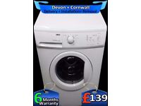 Zanussi Washing Machine, Huge 8Kg, Fast 1200, Flexi-Dose, Fully Refurbished inc 6 Months Warranty