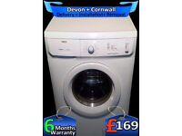 Quick Wash, Auto Dry, 1600 Mega Spin, Zanussi Washer Dryer, Fully Refurbished inc 6 Months Warranty