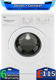 1100, Time Saver, 6Kg Load, A Rated, Beko Washing Machine, Factory Refurbished inc 6 Months Warranty