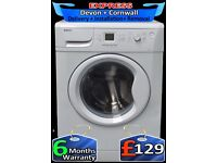 Top Beko, Large 7Kg Drum, Mega Fast 1600, LCD, Fully Reconditioned inc 6 Months Warranty