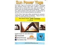 Yoga classes in Chilwell