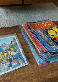 Simpsons comics assorted used x44