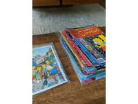 Simpsons comics assorted used x44