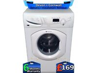 Fast 1400, Hotpoint Washer Dryer, Quick Wash, LCD, 6+5KG, Factory Refurbished inc 6 Months Warranty