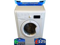 Top Indesit Washing Machine, Big 7KG, Full LCD, Fast 1400, Factory Refurbished inc 6 Months Warranty