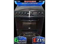 Ceramic Hob, Fan Assisted, Fantastic Double Oven, Fully Reconditioned inc 6 Months Warranty