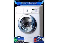 Diamond Drum, LG Washing Machine, Fast 1200, Huge 8Kg, A+, Fully Refurbished inc 6 Months Warranty