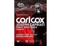 Carl Cox ticket