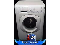 Hotpoint Quick Wash Washing Machine, Fast wash, 1200 spin, Fully Reconditioned inc 6 Months Warranty