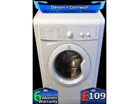 Quick Wash, Indesit Washing Machine, 5Kg Drum, 1000 Spin, Fully Refurbished inc 6 Months Warranty