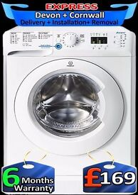 Indesit 9Kg Mega Drum, Very Fast 1600 spin, AAA+ Rated, Fully Reconditioned inc 6 Months Warranty