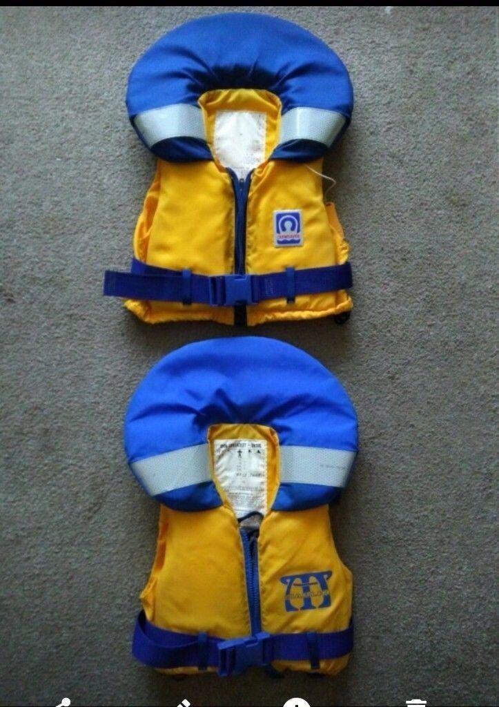 Two children's buoyancy aids £8 each