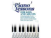 Piano Lessons for Kids and Adults