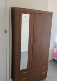 FREE 3 piece suite, 2 wardrobes, wall unit, double bed