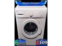 Beko 5kg Washing Machine, Time Saver, Slimline, White, Fully Refurbished inc 6 Months Warranty