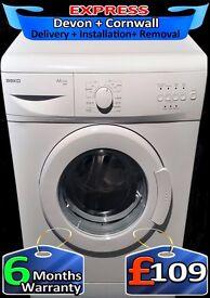 Slimline Beko Washing Machine, 5Kg Drum, Many Programs, Fully Reconditioned inc 6 Months Warranty