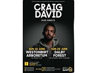 2 x Craig David tickets