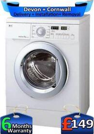 No Belt, Direct Drive, LG Washing Machine, Big 7.5Kg, 1200,Factory Refurbished inc 6 Months Warranty