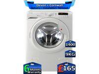 9kg Drum, Hoover Washing Machine, 1400 Spin, Fast Wash, Factory Refurbished inc 6 Months Warranty