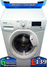 Hoover Washing Machine, Top 1400, Huge 9Kg, Fast Wash, A+, Factory Refurbished inc 6 Months Warranty