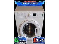 9KG Hotpoint Mega Drum, Current Model, Aquarius, A+ Rated, Fully Reconditioned inc 6 Months Warranty