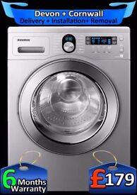 Top Tech, Fast 1400, Samsung Eco-Bubble, Big 8Kg Drum, A+, Fully Refurbished inc 6 Months Warranty