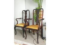 Beautiful solid wood Vintage chairs