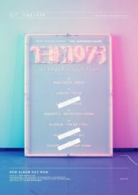 4x The 1975 standing tickets, O2 Arena London, Friday 16th December 2016