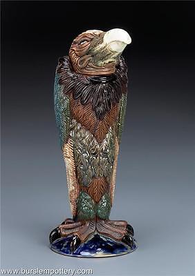 BURSLEM POTTERY GROTESQUE BIRD VINCENT EX COBRIDGE INSPIRED BY MARTIN BROTHERS