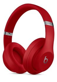 Beats Studio 3 Wireless Over‑Ear Headphones - Red NEW SEALED