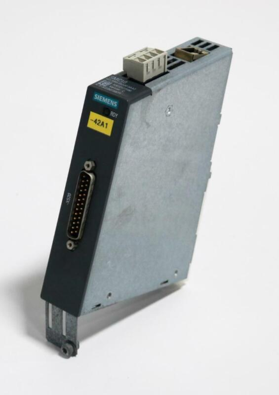 Siemens SMC10, 6SL3055-0AA00-5AA3 Sinamics Sensor Module Resolver