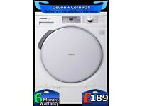 Economical, LCD, A+, Panasonic Heat Pump, Condenser Dryer, Fully Refurbished inc 6 Months Warranty