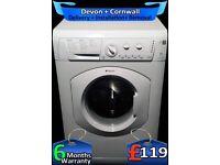 Fast 1400, Hotpoint Washing Machine, Daily Fast Wash, Factory Refurbished inc 6 Months Warranty