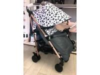 Nicole Snooki Polizzi MAWMA/Leopard stroller