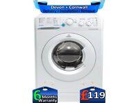 1200 Spin, 6kg Drum, Slimline, Indesit Washing Machine, Factory Refurbished inc 6 Months Warranty