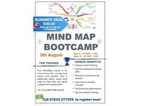 Summer Mind Map Bootcamp for Kids - Learn the Creative Art of Mind Mapping