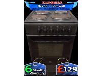 Indesit Single Cavity Oven, Anthracite, Grill Combined, Fully Reconditioned inc 6 Months Warranty
