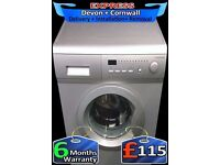 Bush A+ Rated, 1200 spin, Fast Wash Washing Machine, Fully Reconditioned inc 6 Months Warranty