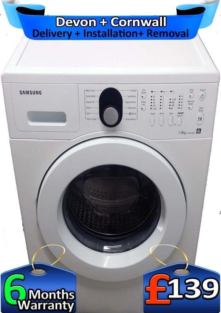 Air Refresh, Samsung Washing Machine, Rapid, LCD, Big 7Kg, Factory Refurbished inc 6 Months Warranty