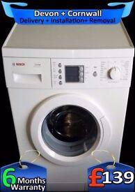 Big 7Kg Bosch, Top Washing Machine, Fast 1200, Rapid Wash, Fully Refurbished inc 6 Months Warranty