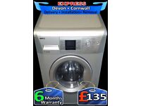Big 7KG Drum, Fast 1400, Full LCD, A+ Rated Beko, Fully Reconditioned inc 6 Months Warranty