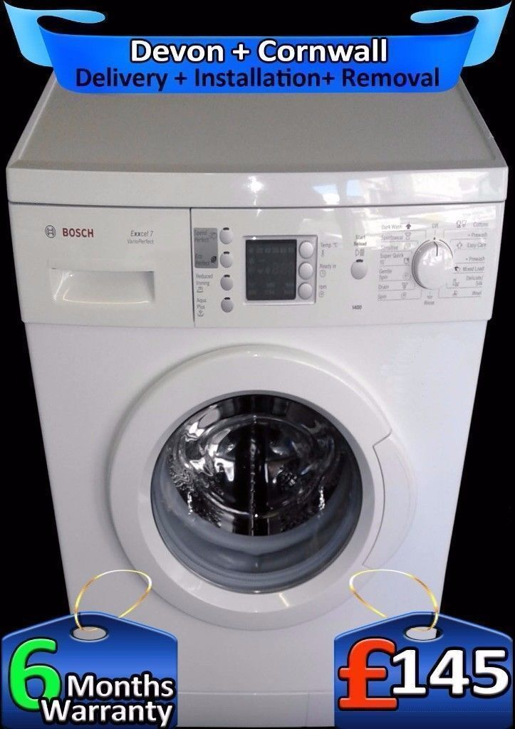 Bosch Aqua-Spa, Touch Control, Fast 1400 Washing Machine, Fully Refurbished inc 6 Months Warranty