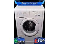 Indesit Quick Wash Washing Machine, Eco Wash, 1100 spin, Fully Refurbished inc 6 Months Warranty