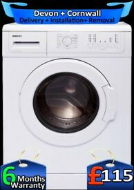 Beko Washing Machine, 6kg Drum, Fast 1200, Rapid Wash, Factory Refurbished inc 6 Months Warranty
