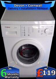 Bosch Touch Controls, Fast 1200, Big 6Kg Drum, Aqua Plus, Fully Refurbished inc 6 Months Warranty