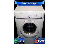 A+ Rated, 6Kg Drum, Very Fast 1600, Top Zanussi, Rapid Wash, Fully Refurbished inc 6 Months Warranty