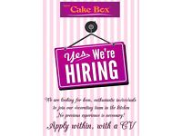 Cake Decorator for Cake Box